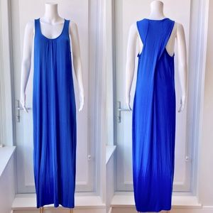 LORD & TAYLOR Cobalt Blue Maxi Dress